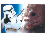 Laurie Goode STAR WARS - SAURIN Genuine Signed Autograph 10x8 COA 10127